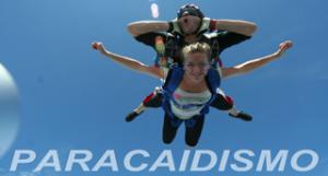 Paracaidismo y tandem