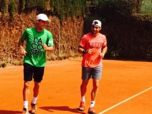 Roberto Bautista y David Ferrer