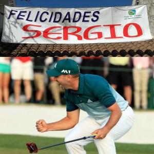 Golf Place, Enhorabuena Sergío García